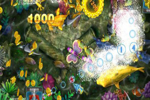 捕鱼达人技巧,百万金币不是梦